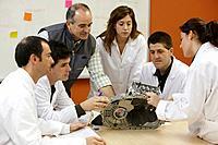 Brainstorming room, training and development ideas, Automotive industry Unit. Fundación Inasmet-Tecnalia, Centro de Investigación, Parque Tecnologico ...