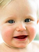 Baby's face close up (thumbnail)