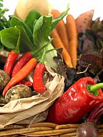 Basket of Fresh Vegetables (thumbnail)