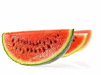 Three slices of Water Melon