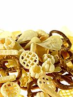 Assorted Crisps and pretzels