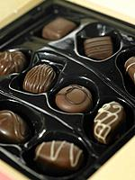 An assorted box of Chocolates