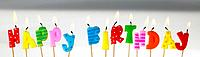 Panoramic Colours, Happy Birthday Candles (thumbnail)