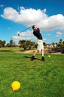 Club Maspalomas Golf course. Gran Canaria, Canary Islands, Spain