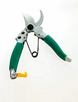 Close_up of pruning shears