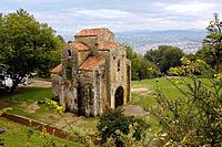 Pre-Romanesque church of San Miguel de Lillo. Oviedo, Asturias, Spain