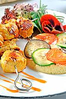 Sussia chicken brochette