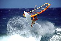 Windsurfing  Maui, Hookipa Beach, Hawaii, USA