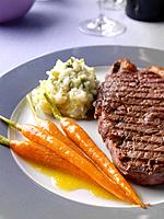 Glazed Carrots Steak