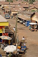 Town of Atakpame. Togo. Western Africa.