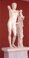 Hermes sculpture de Praxiteles