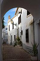 Back lane in Albufeira, Algarve, Portugal