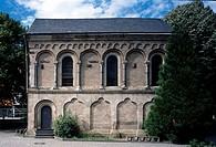 Südseite der Doppelkapelle
