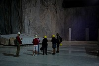 Cave di Marmi, unterirdischer Steinbruch