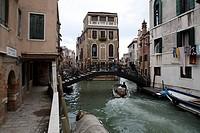 Venedig, Kopfbau am Rio di San Giovanni