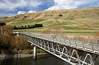Springvale Bridge, Rangitikei River, Napier - Taihape Road, Rangitikei District, Central North Island, New Zealand