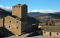 castle of Ainsa. Huesca province, Aragón. Spain