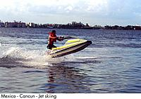 Mexico _ Cancun _ Jet skiing