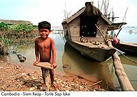Cambodia _ Siem Reap _ Tonle Sap lake