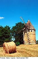 France - Gers - Lupiac - Saint James' Mill (thumbnail)