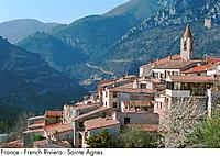 France _ French Riviera _ Sainte Agnes