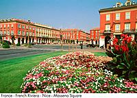 France _ French Riviera _ Nice _ Massena Square