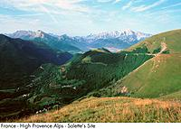 France _ High Provence Alps _ Salette's Site