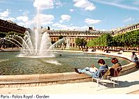 Paris _ Palais Royal _ Garden