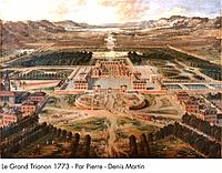 Palace of Versailles _ Le Grand Trianon 1773 _ Par Pierre _ Denis Martin