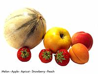 Melon _ Apple _ Apricot _ Strawberry _ Peach