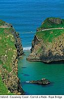 Ireland _ Causeway Coast _ Carrick a Rede _ Rope Bridge