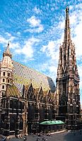 Austria _ Vienna _ St Stephan Cathedral