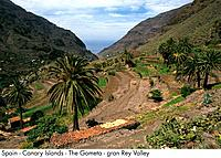 Spain _ La Gometa _ Gran Rey Valley Spain