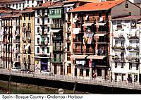 Spain _ The Basque country _ Ondarroa _ Harbour Spain