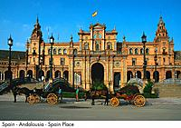 Spain _ Andalousia _ Seville _ Place of Spain Spain
