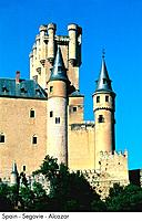 Spain _ Segovie _ Alcazar Spain