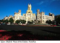 Spain _ Madrid _ Place of the Ce beles _ Post Town