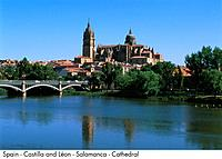 Spain _ Salamanca _ Cathedral Spain