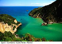 Spain _ Cantabria _ Costa Verde _ Pechon Spain