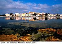 Spain _ The Balearics _ Majorca _ Porto Colom Spain