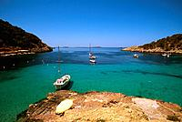 Spain _ The Balearics _ Ibiza _ Cala Vedella