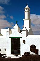 Spain _ Canary Islands _ Lanzarote _ Peasant' house Manrique