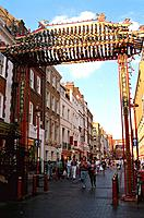 Great Britain _ London _ Chinatown _ Gerrard Street