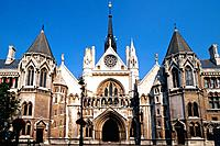 Great Britain _ London _ Royal Courts of Justice