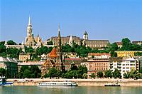 Hungary _ Buda _ View of Buda