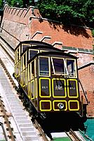 Hungary _ Buda _ Hill of Castle _ Funicular