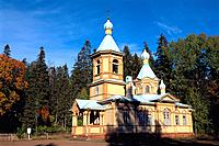 Russia _ Ladoga Lake _ Valaam Island _ Ascension Church