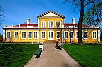 Russia _ St Petersburg _ Petrodvorets _ Peter 1 st Palace _ Hunting Lodge