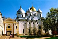 Russia _ Novgorod _ St Sophie Cathedral