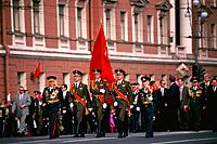 Russia _ St Petersburg _ 9 may Parade on Nievski Prospect
